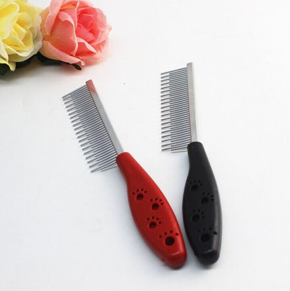 Trimmer Grooming Comb Brush Comb Rake Hair Shedding Flea For Pet