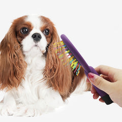 Pet Dog Double-faced Hair Comb Pets Grooming Double Sided