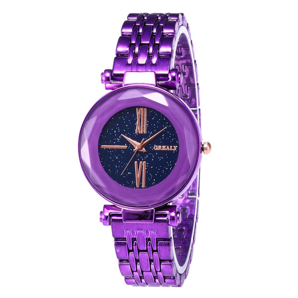 Fashion Quartz Watch Women Ladies Girls Wristwatch Clock