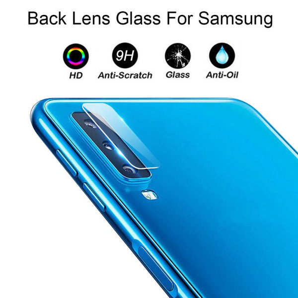 2.5D Cellphone Back Lens Cover Protector Mini Ultra-thin Anti-Knock Toughened Glass