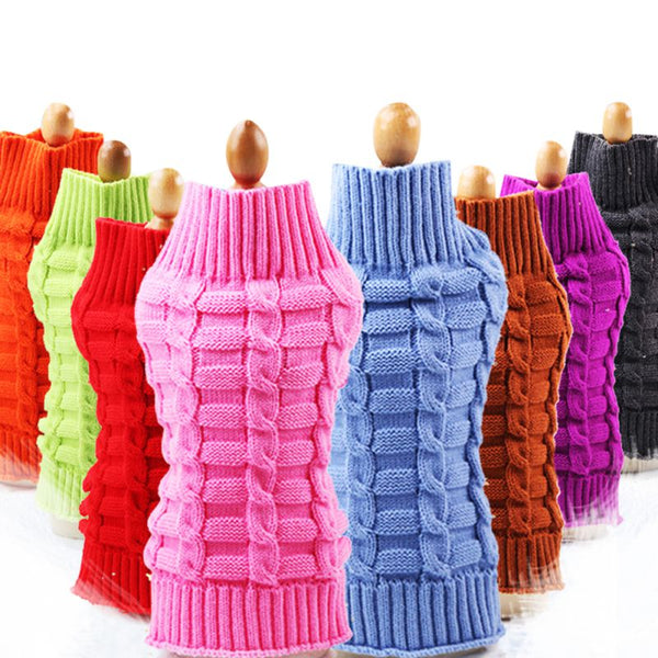 Dog Sweater Autumn And Winter Imitation for Small Medium Large