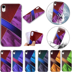 For iPhone XR /XS MAX 6.1/6.5 Inch SLIM Luxury Leather