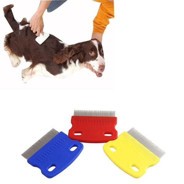 Dog Grooming Steel Small Fine Toothed Pet Flea