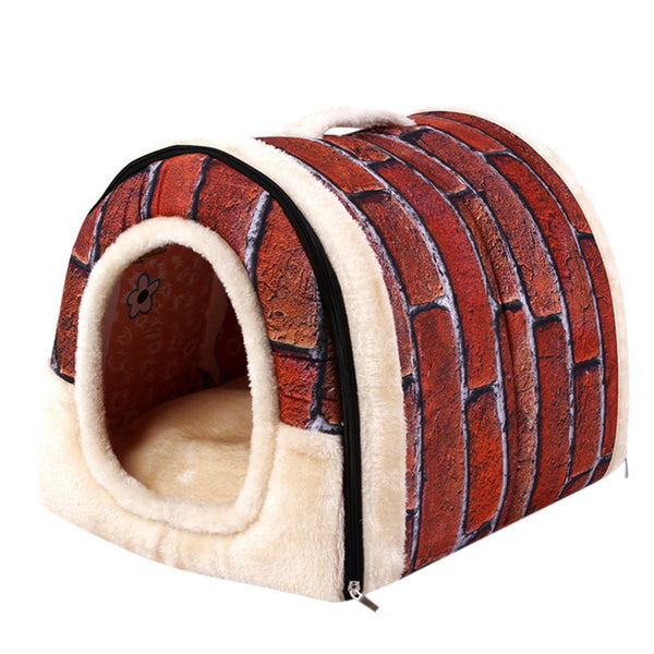 Pet Dog Cat Bed sofa House Winter Warm Soft Mat Bedding