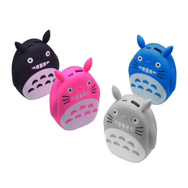 power bank 12000mAh portable cartoon universal mobile battery cute