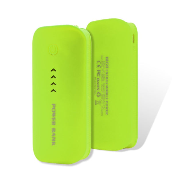 Power Bank Real 5200mah USB External Mobile Backup Battery for Cell Phone