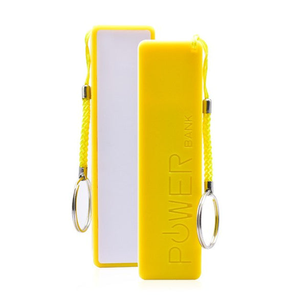 power bank 3000mAh with keychain charger battery portable charger