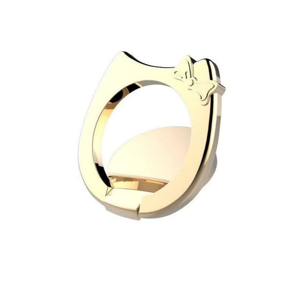 Cat Ear Universal Finger Ring HolderMetal Cute Ring Holder