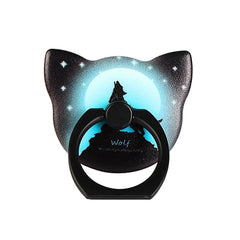 Mobile Phone Smartphone Stand For Ipad Laptop 360 Degree Luminous Finger Ring