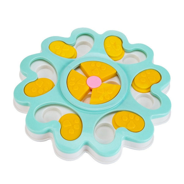 Puppy Dogs Treat Dispenser for  Eating Toys Food Puzzle Bowl