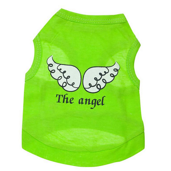 Spring Winter Pet Dog Puppy Cat Vest Clothes Angel