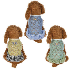 Dogs Cats Pet Puppy Summer Outdoor Vests Heart Mesh