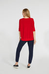 Sympli - Motion Trim Boxy Top