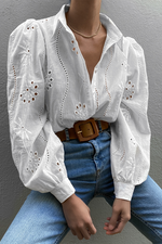RUNAWAY THE LABEL - KNOWLES BLOUSE - WHITE