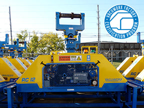 RC 12 Vacuum Lifter Factory Certified