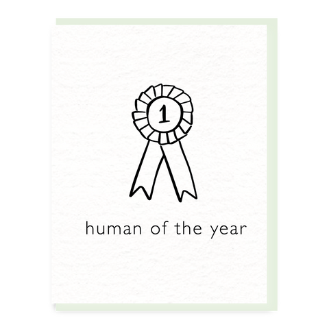 human of the year
