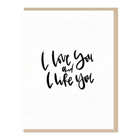 love + like you
