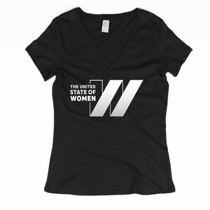 The United State of Women Logo V-Neck with Back Detail