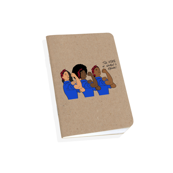 The United State of Women Rosa the Riveter Notebook