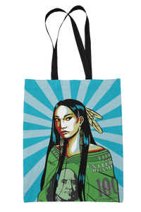 Native Women Equal Pay Tote