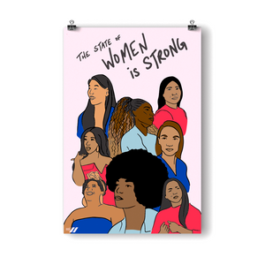 The State of Women is Strong Poster