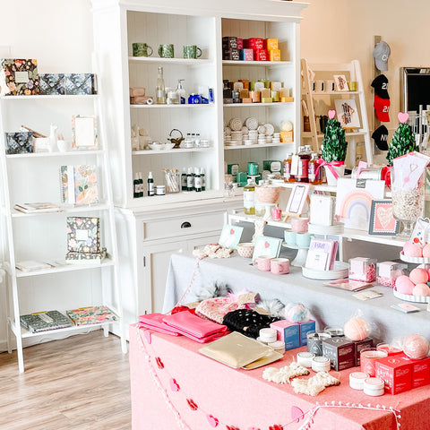 Inside Toluka Paperie + Gifts