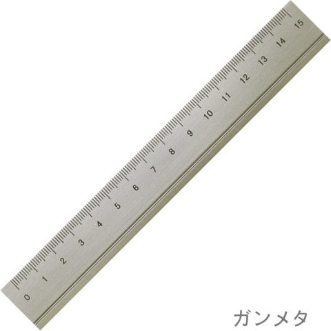 Slip-on Aluminium Ruler Gold