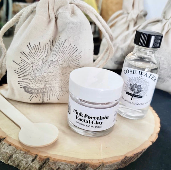 Pink Clay Mask Set - Small
