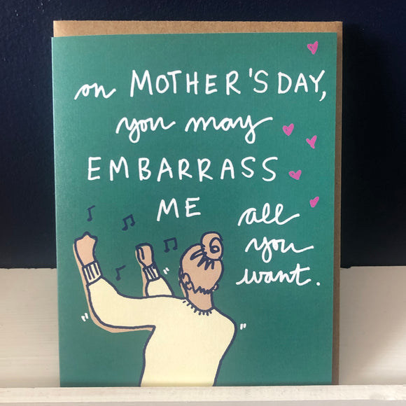 Dancing Mom Card
