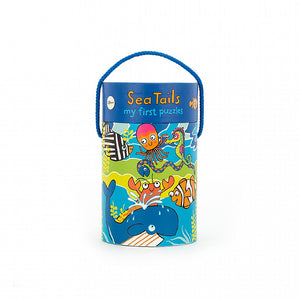 Sea Tails 4-In-One-Puzzle