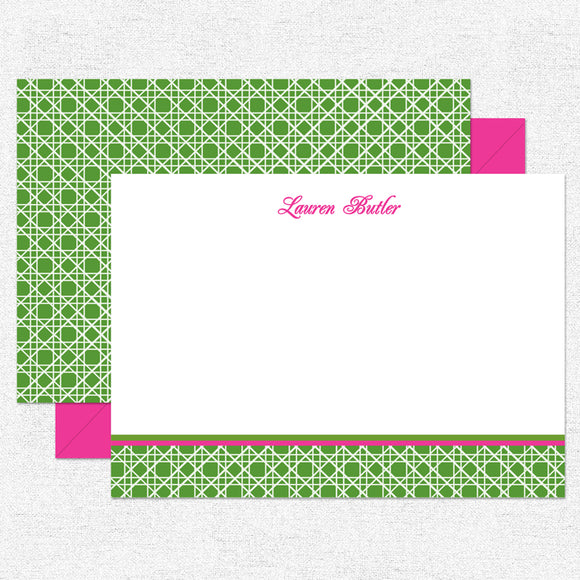 Green Caning Stationery