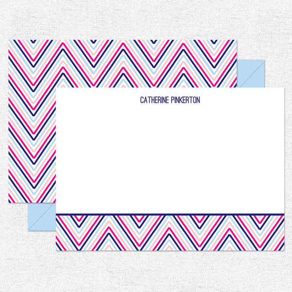 Multi Chevron Stationery