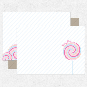 Pink Sweet! Stationery