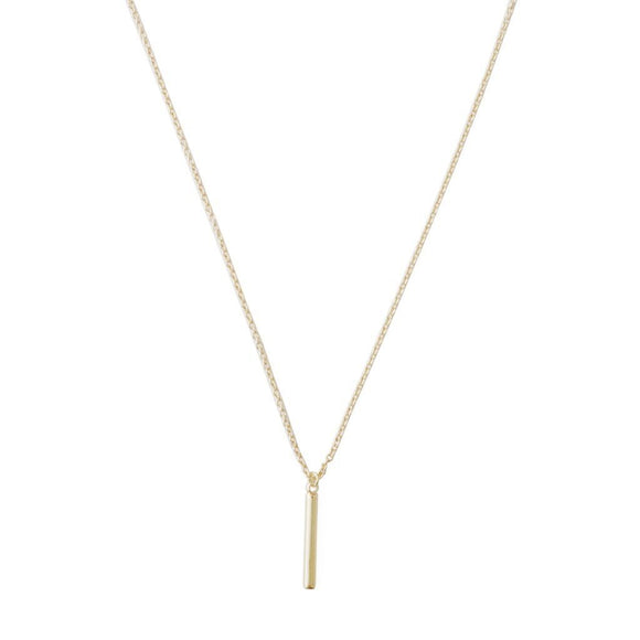 Pipette Bar Necklace