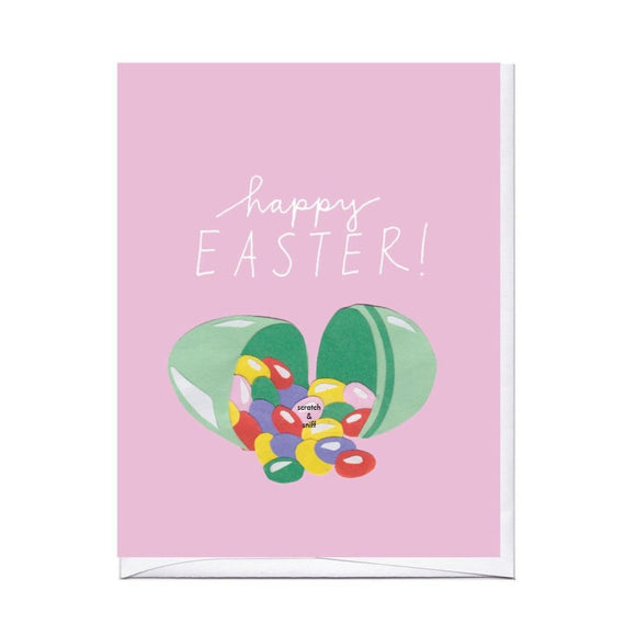 Easter Jelly Beans Scratch N Sniff Card