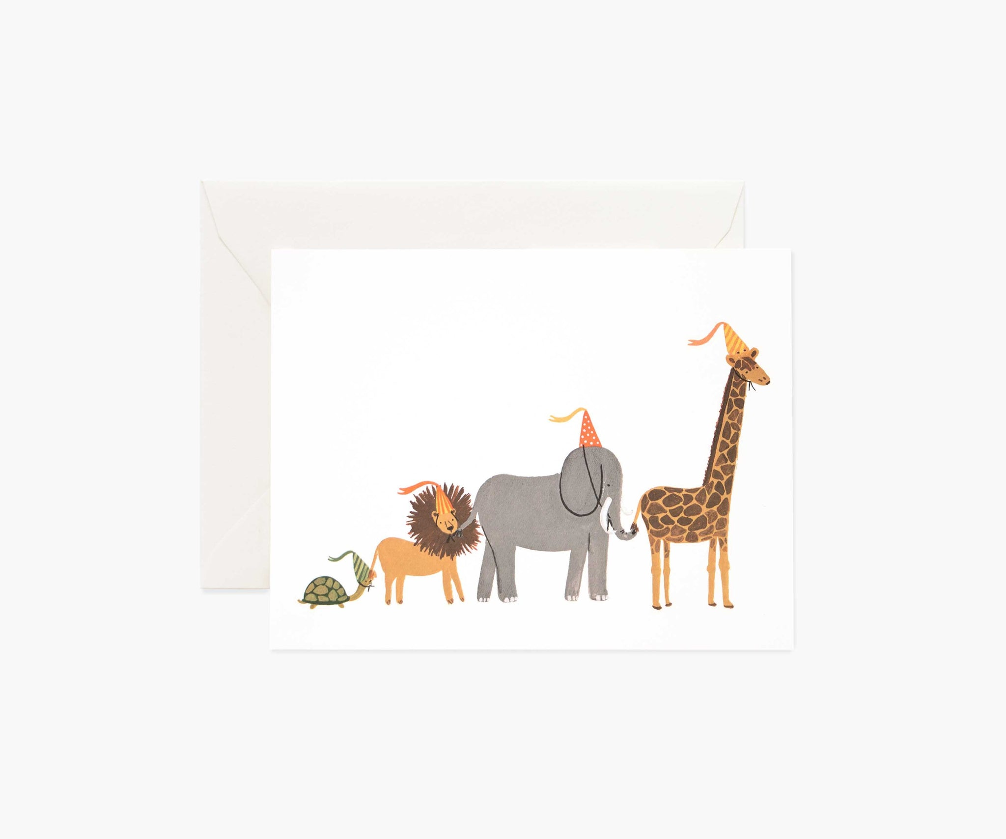 Party Parade Greeting Card