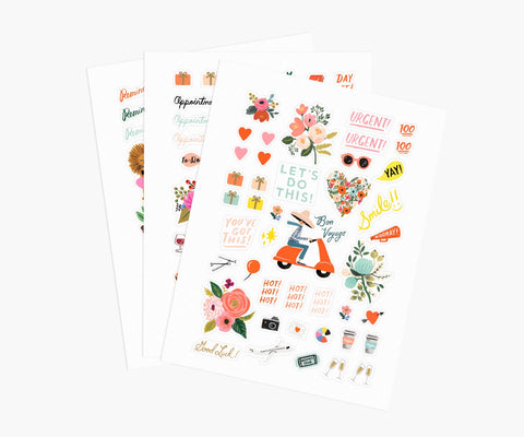 Rifle Paper Sticker Sheets