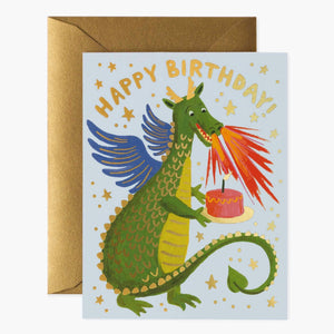 Birthday Dragon Greeting Card
