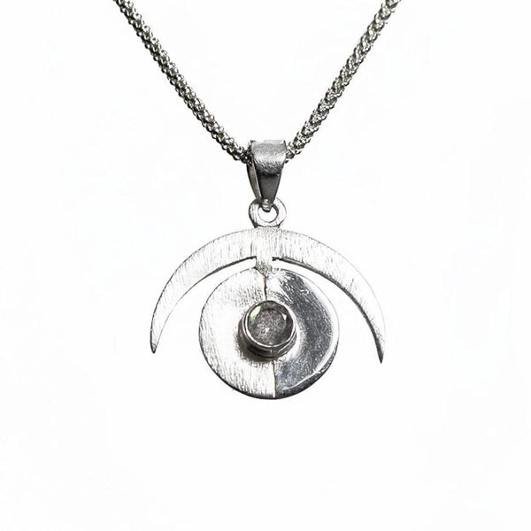 Operation Eyesight Necklace - Silver & Labradorite
