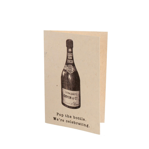 Pop the Bottle Card