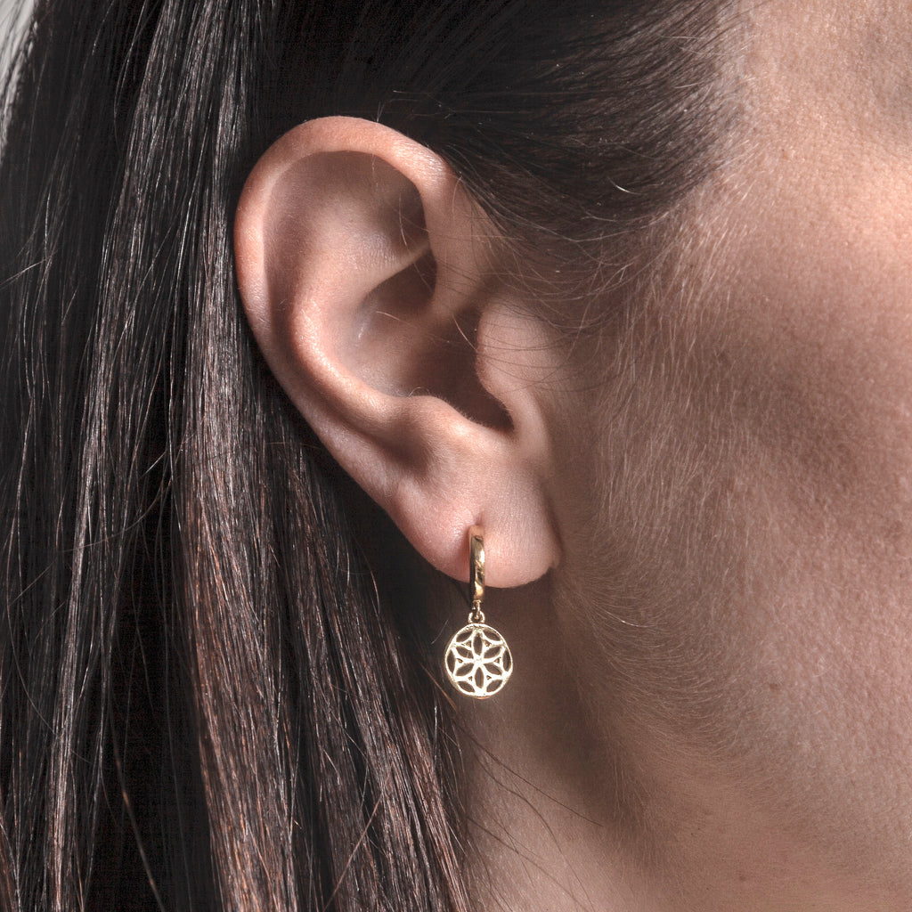 Cosmos Earrings - Gold