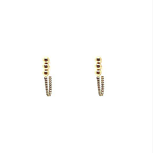 Diu Earrings - Gold