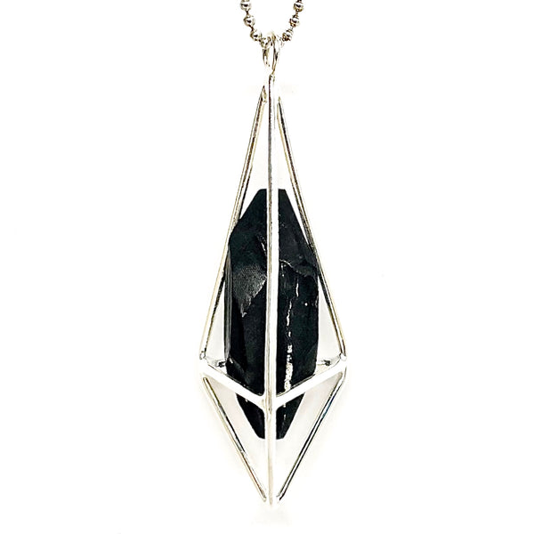 Lumia Necklace - Shungite & Silver