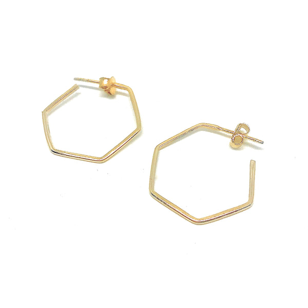 Haika Hoops - Gold