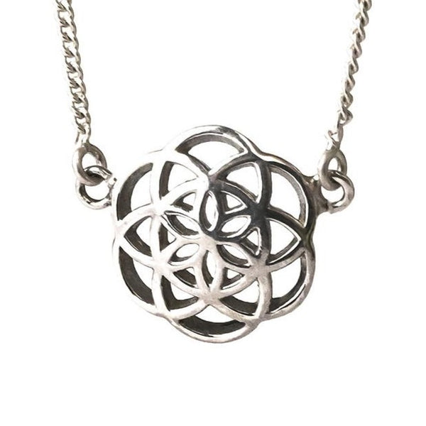 Seed of Life necklace sterling silver small