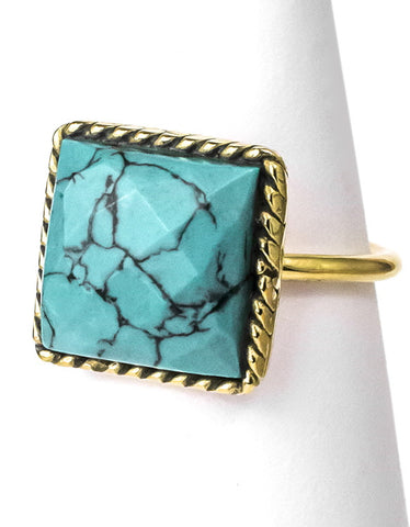 Grace Ring - turquoise