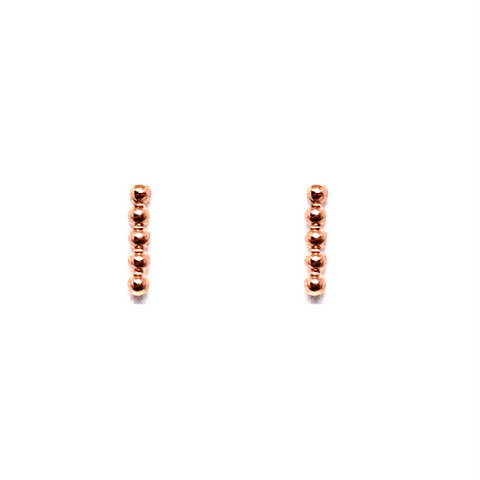 Idar Studs - Rose Gold