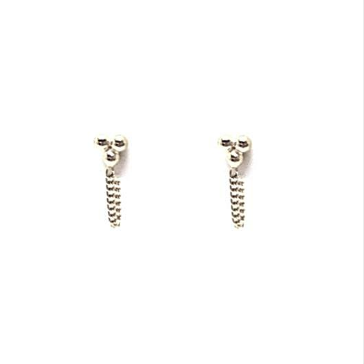 Kisa Earrings - Silver