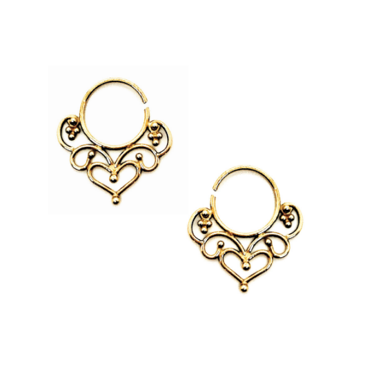 Lakshmi Earrings - Gold