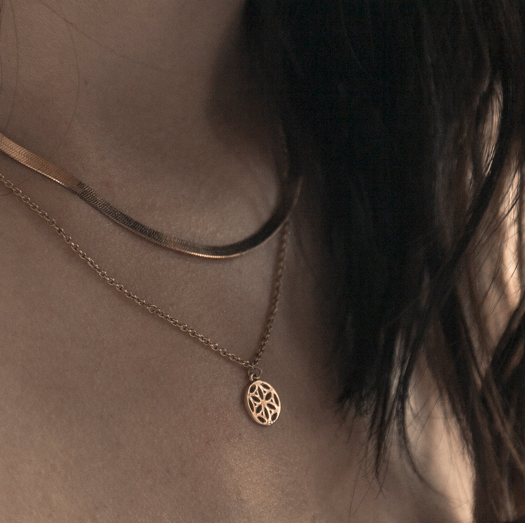 Infinite Necklace - Gold